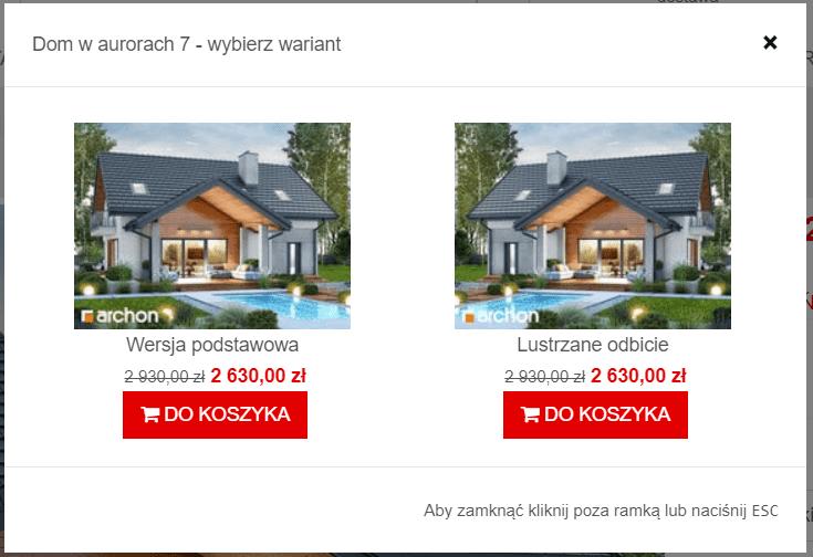 Opcje zakupu w sklepie internetowym
