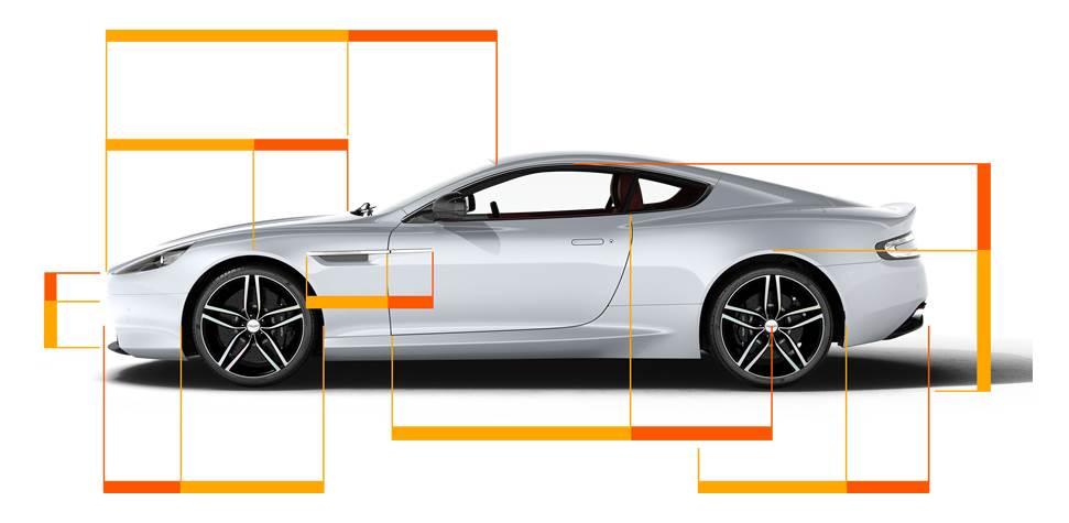 Aston Martin - złoty podział