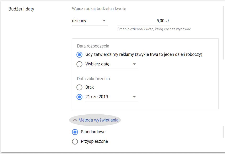 Cena reklamy na YouTube