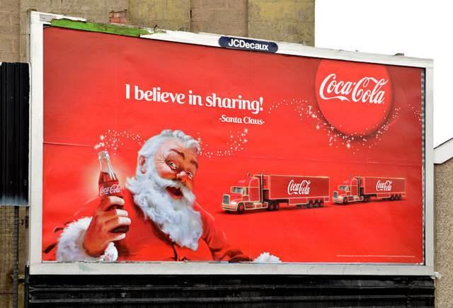 Świąteczna reklama Coca-Cola