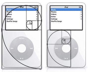 iPod - złoty podział