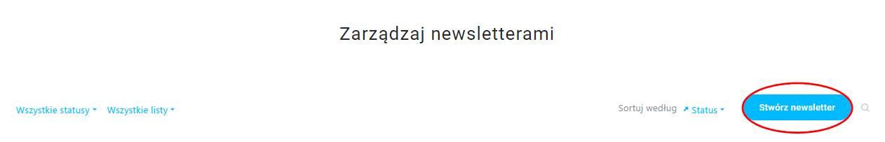 Zarządzanie newsletterem