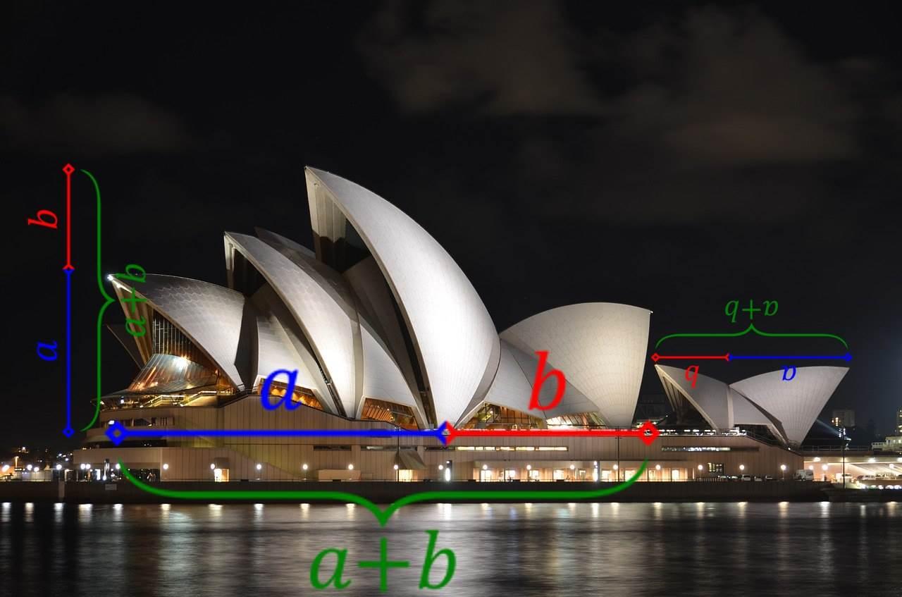 Opera w Sydney - złoty podział