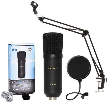 Podcast - mikrofon Novox NC-1