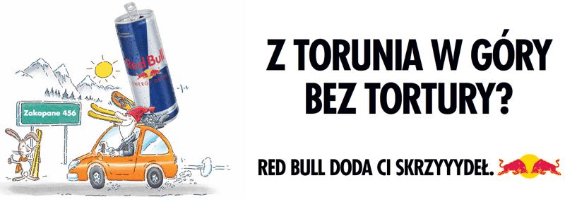 Hasła reklamowe - Red Bull