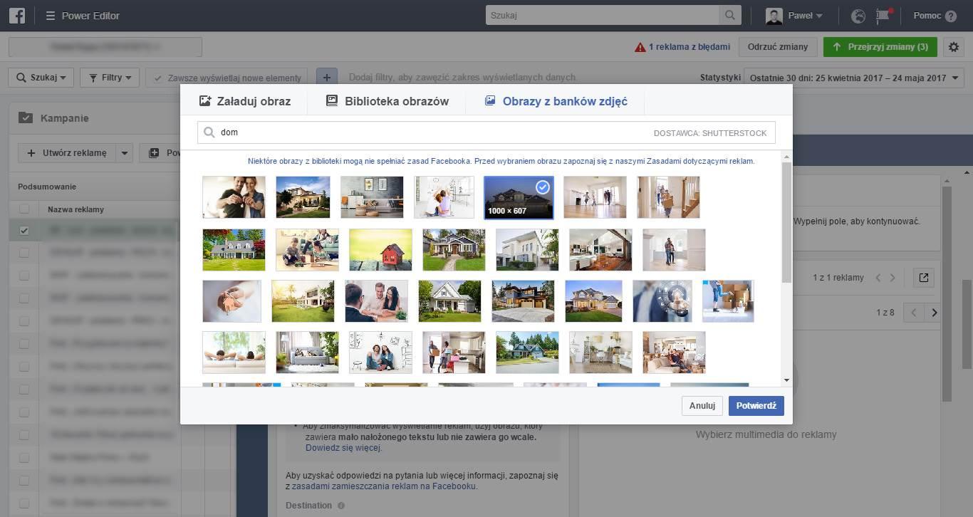 Reklama na FB - darmowe zdjęcia
