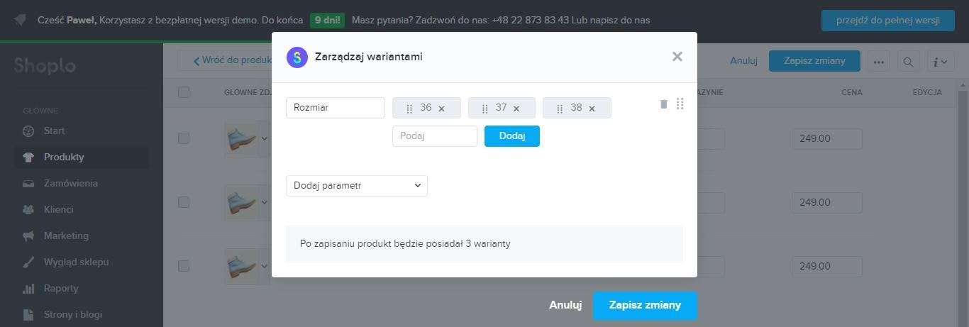 Jak założyć sklep internetowy - szczegóły produktu
