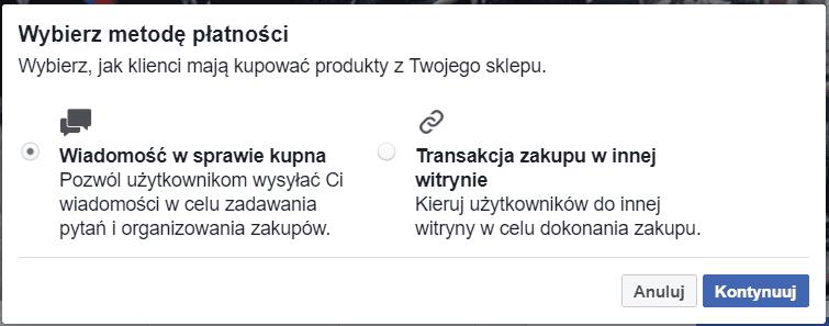 Sposoby sprzedaży na Facebooku
