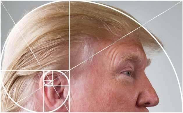 Trump - złoty podział
