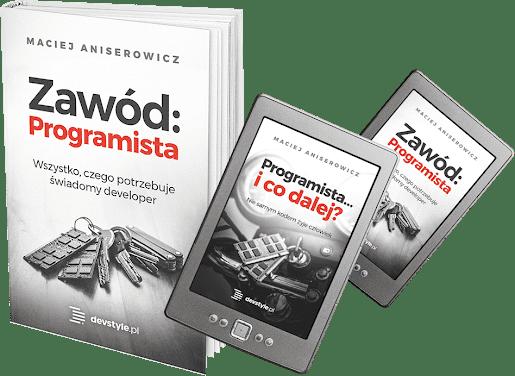Książka - Zawód Programista - Maciej Aniserowicz