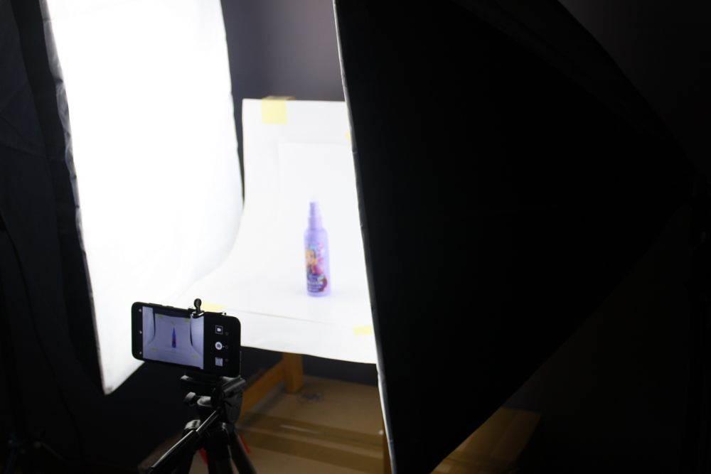 Fotografia produktowa – ustawienie 3