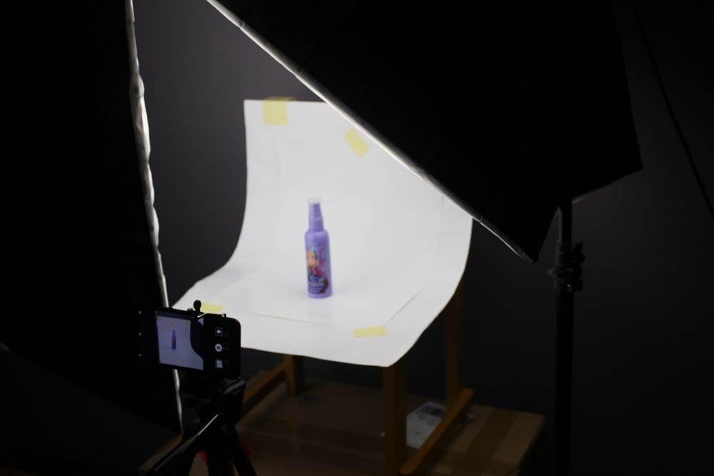 Fotografia produktowa – ustawienie 1