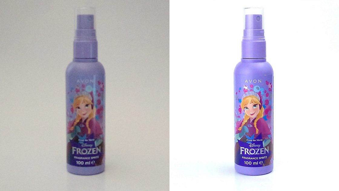 Zdjęcie produktu do sklepu internetowego - przed i po